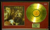 ABBA - 24 Carat Gold disc LP & cover - 'ABBA'